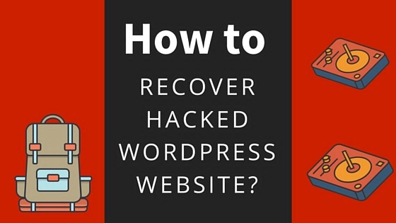 recover hacked wordpress