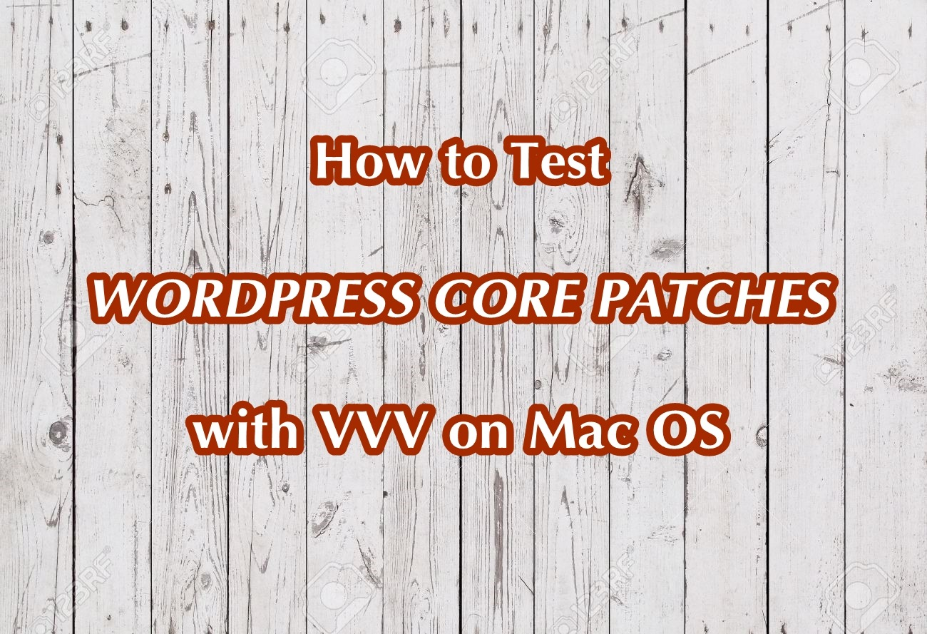 WordPress-core-patches