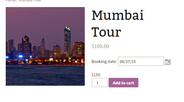 Frontend of Mumbai Tour