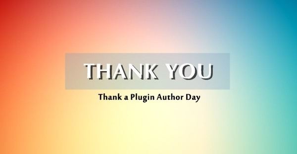 Plugin-Author-Day