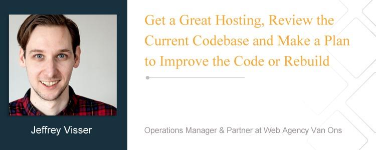 Jeffrey Visser, Operations Manager & Partner at Web Agency Van Ons