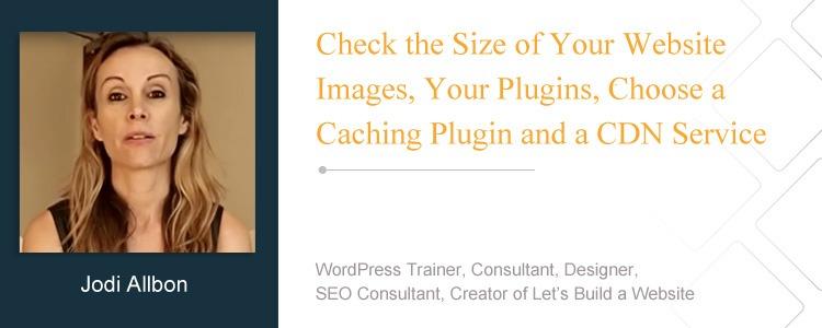 Jodi Albon, WordPress Trainer, Consultant, Designer, SEO Consultant, Creator of Let's Build a Website