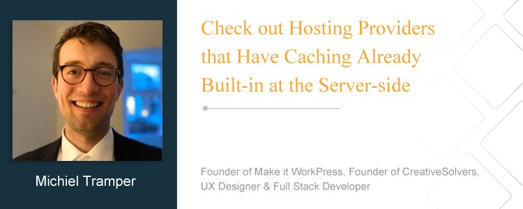 Michiel Tramper, Founder of Make it WorkPress, Founder of CreativeSolvers, UX Designer & Full Stack Developer