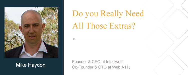 Mike Haydon, Founder & CEO at Intelliwolf, Co-Founder & CTO at Web A11y
