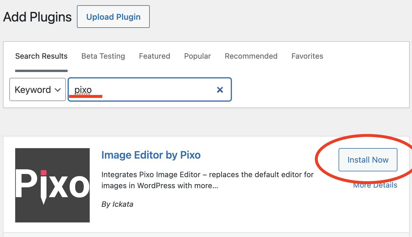 pixo image editor